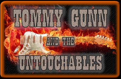 Tommy Gunn & the Untouchables Logo
